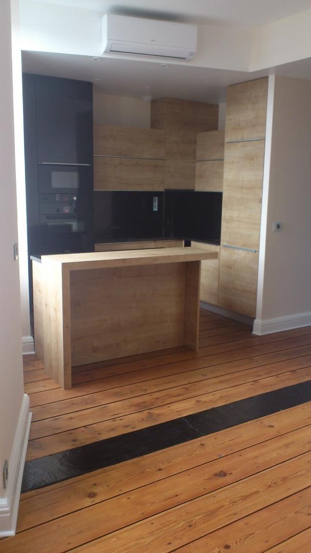 Réaménagement d'une cuisine et d'un séjour