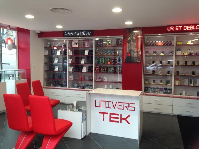 Aménagement d'une boutique de vente et réparation de téléphone