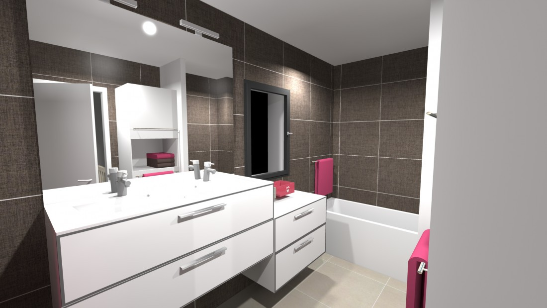 Travaux d'aménagement d'une salle de bains à Bordeaux