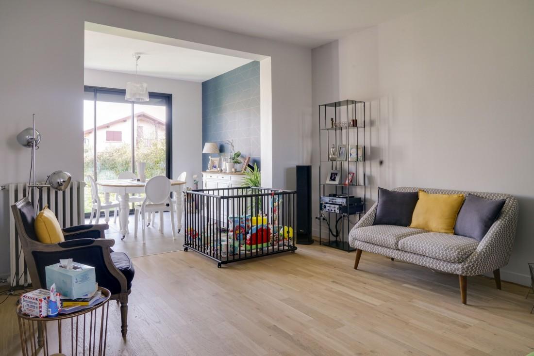 Rénovation d'un salon à Bordeaux