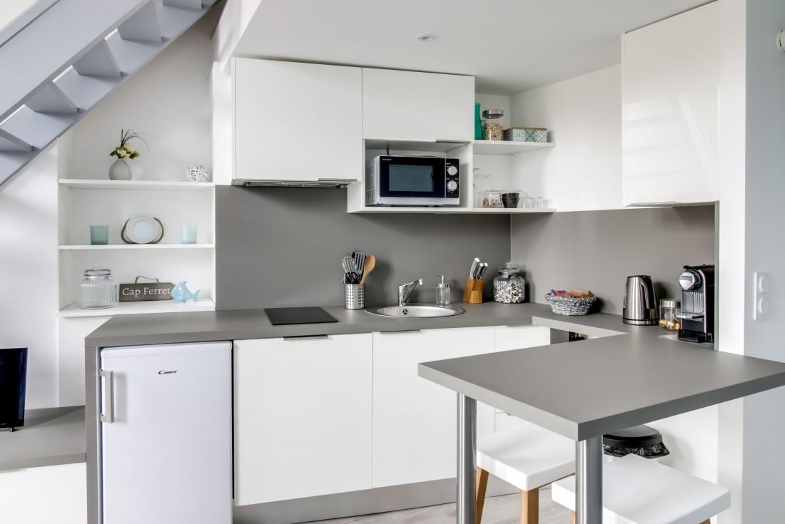 réaménagement de cuisine d'un duplex T2 en plein centre de bordeaux