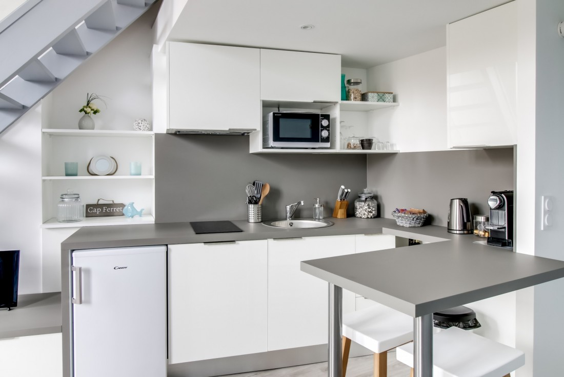 réaménagement cuisine d'un duplex T2 en plein centre de bordeaux
