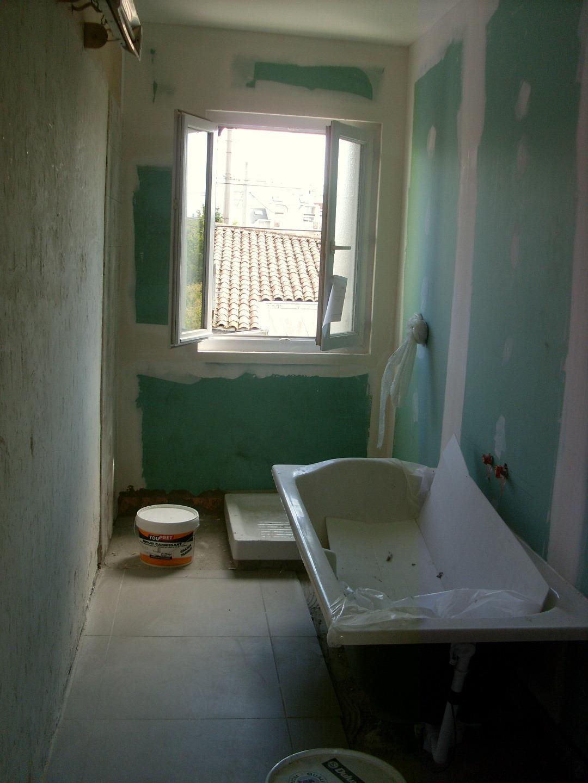Création d'une salle de bains enfants