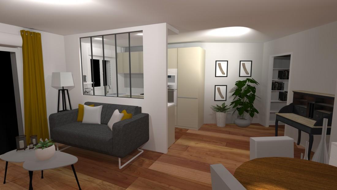 Projet de décoration et d'aménagement intérieur