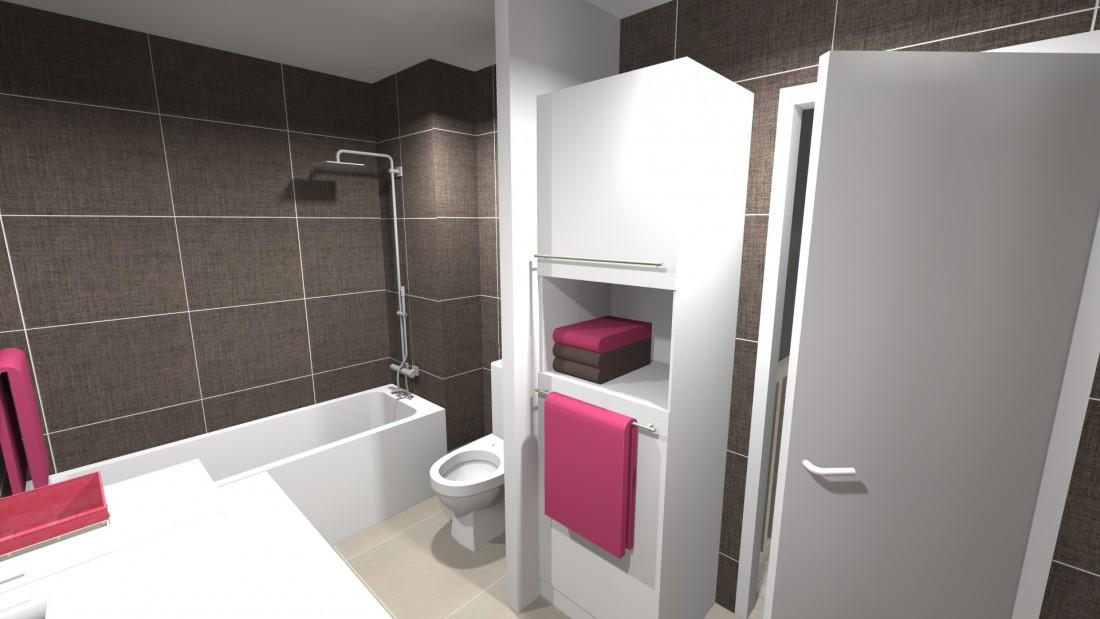 Projet d'aménagement d'une salle de bains à Ambarès 33