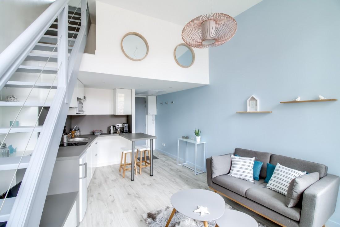 Projet : réaménagement et décoration d'un duplex T2 en plein centre de bordeaux