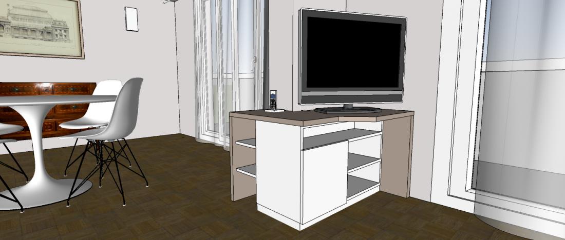 Projets de meubles sur-mesure auprès de votre architecte d'intérieur à Bordeaux